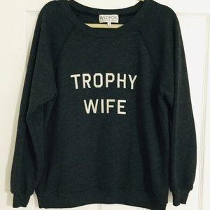 Wildfox Trophy Wife Crewneck Sweatshirt